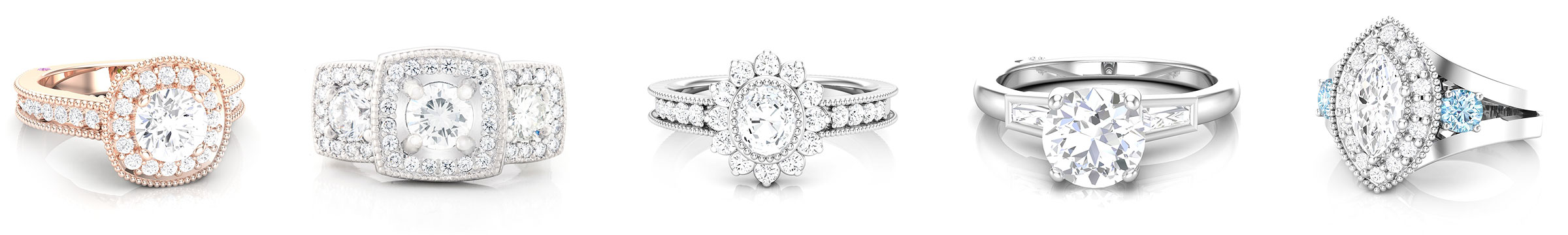 bridal jewelry CAD