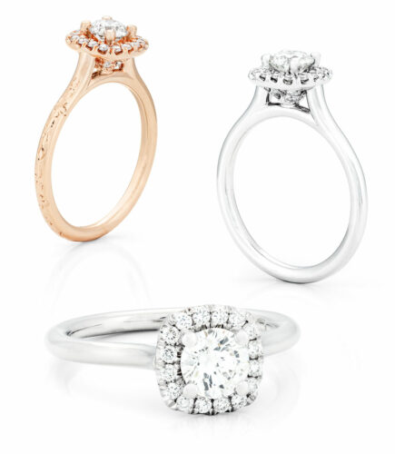 bella italia-classico bridal ring collection