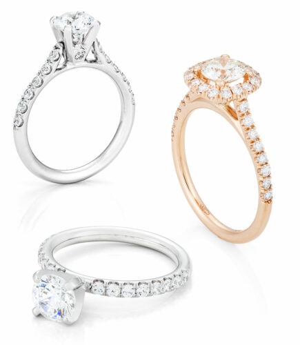 bella italia bridal ring collection