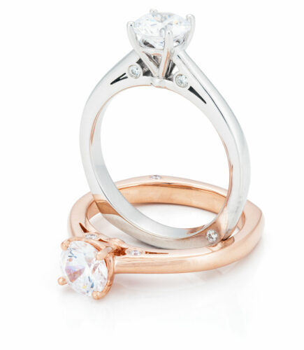 petit pont bridal ring collection
