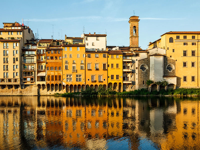 Arno Reflections, Florence