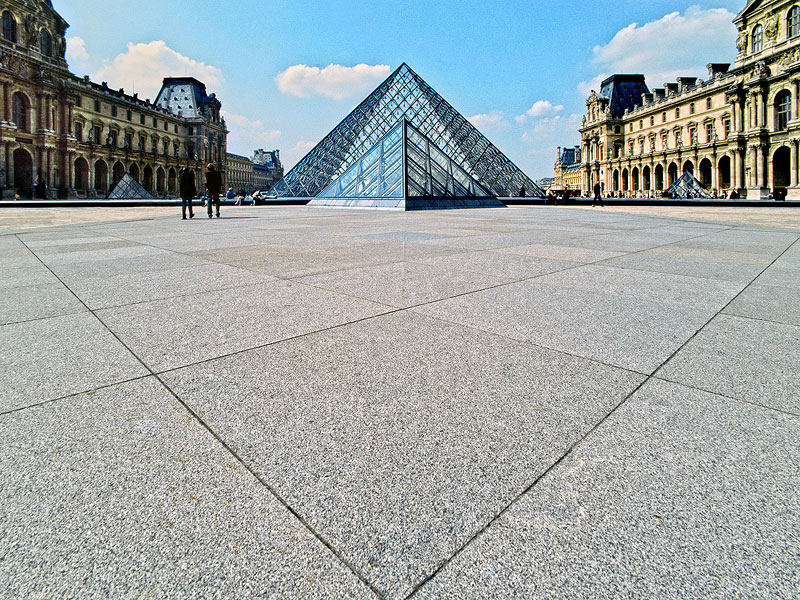 Courtyard of the Louvre