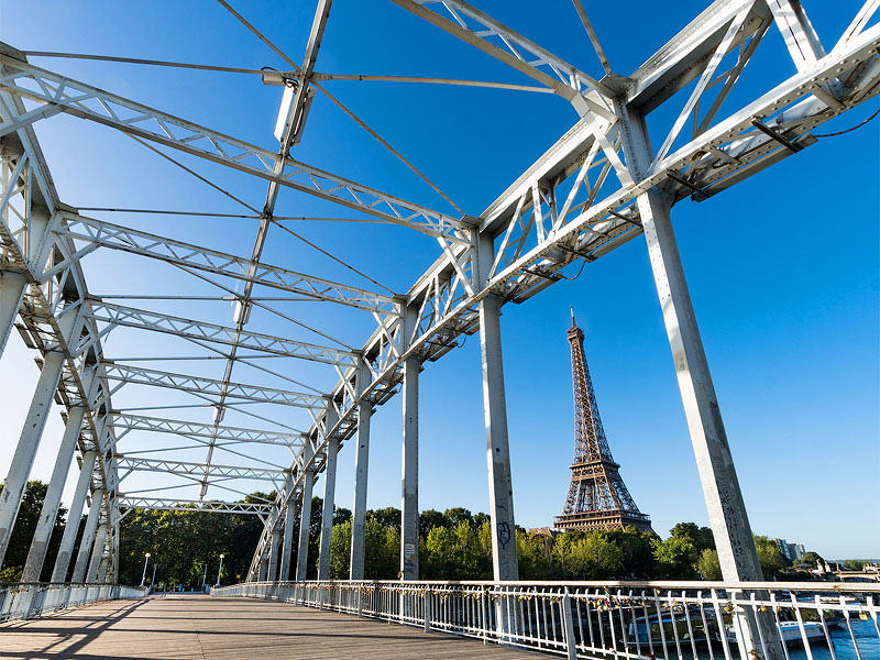 Eiffel Tower from the Passerelle Debilly